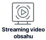 Streaming video obsahu logo